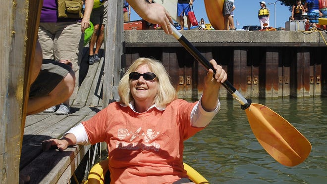 If you or your girlfriends prefer hiking boots over heels, head out to Pack and Paddle for this guided, group kayaking/canoeing trip.