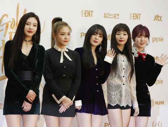 EPA SOUTH KOREA MUSIC GOLDEN DISK AWARDS ACE MUSIC KOR GY