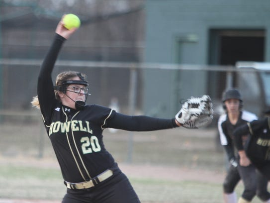 Molly Carney pitched Howell into the regional championship