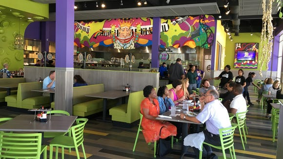 Mellow Mushroom is now open at 79 Commerce St. in downtown Montgomery.