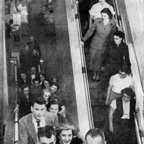 Looking Back: J.C. Penney's escalator delighted kids and adults in 1953