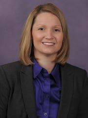 Northwestern State women's basketball coach Brooke Stoehr