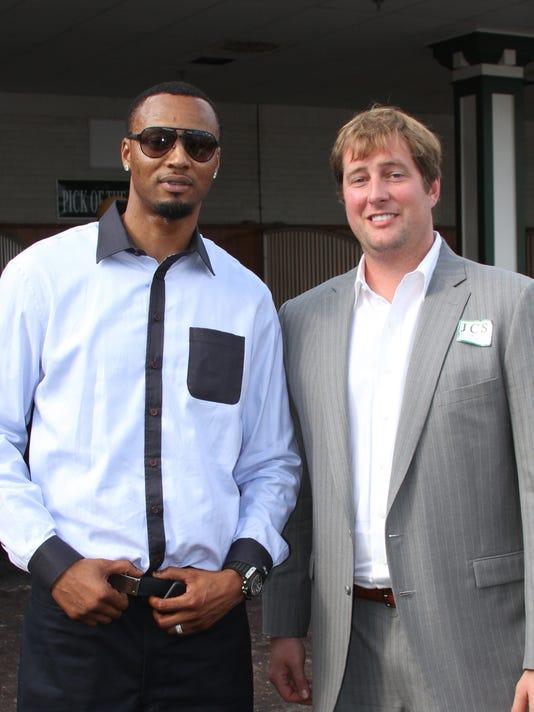 20140927 Rashard Lewis (left) and Jake Ballis (right).JPG