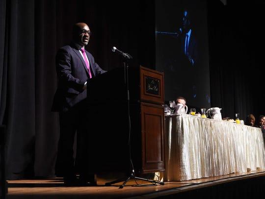 Keynote speaker Jerome Pickett, senior vice president