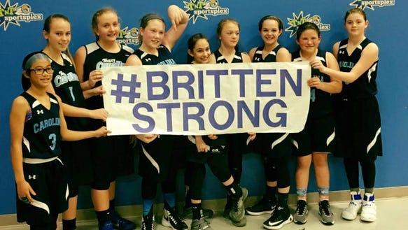 The Team Carolina Asheville sixth-grade girls basketball