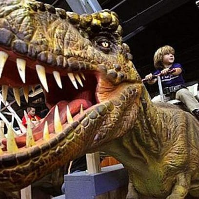 Limelight Extra: Dig the dinos at the fairgrounds