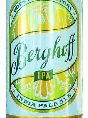 Berghoff  India Pale Ale, from Berghoff Brewery in Chicago, is made at Stevens Point Brewery in Wisconsin.