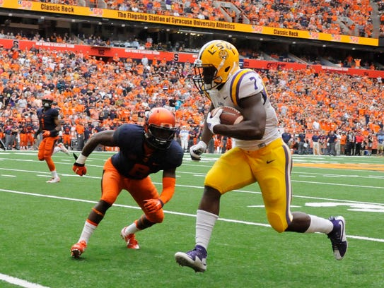 Syracuse couldn't stop LSU running back Leonard Fournette