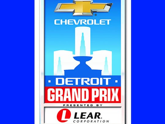 New logo for the Chevrolet Detroit Grand Prix, presented