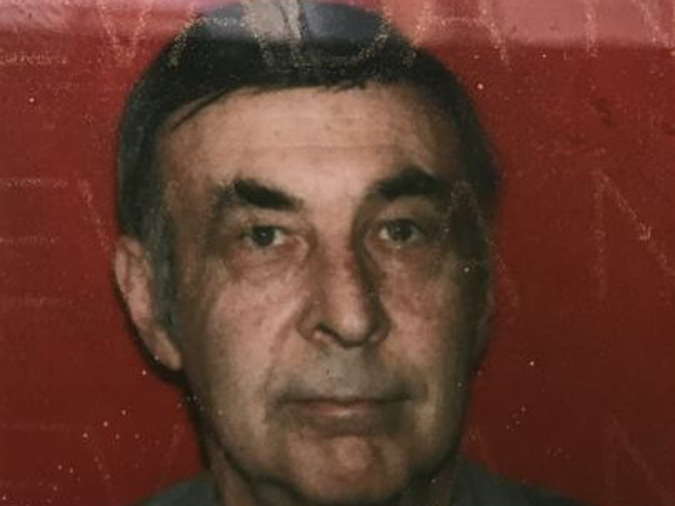 The only photo detectives have of Gene Mortarotti is from his driver's license.