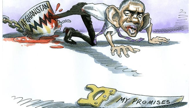 Taylor Jones, El Nuevo Dia, Puerto Rico, drew this Desert Sun editorial cartoon for Oct. 22, 2015.