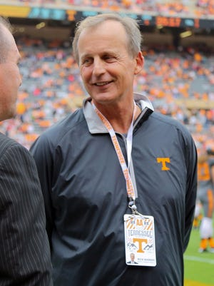 Rick Barnes has taken over as basketball coach at Tennessee.
