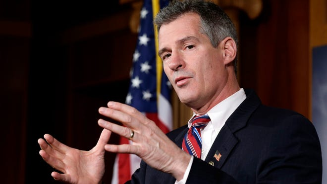 Former senator Scott Brown, R-Mass.