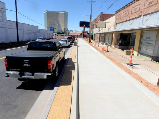Progress is continuing to be made in downtown Bossier
