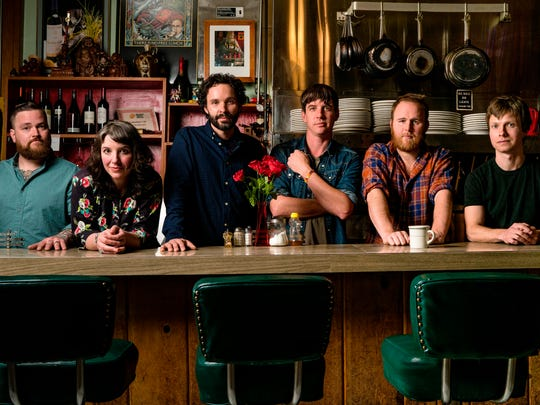 The Oregon band Blind Pilot hits the Grand Point North stage on Saturday.