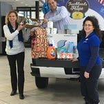 Stuff the truck at Gordon Chevrolet