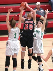 Crestview's Reegan Givens shoots a jumper during Thursday's
