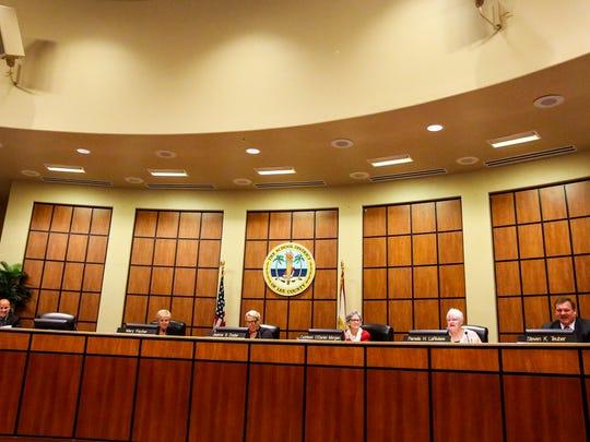 The Lee County school board.