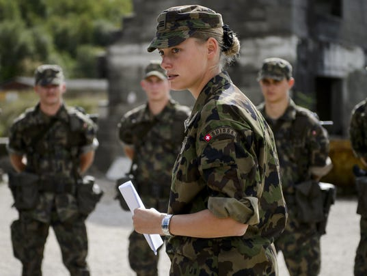Swiss voters reject move to end conscription army