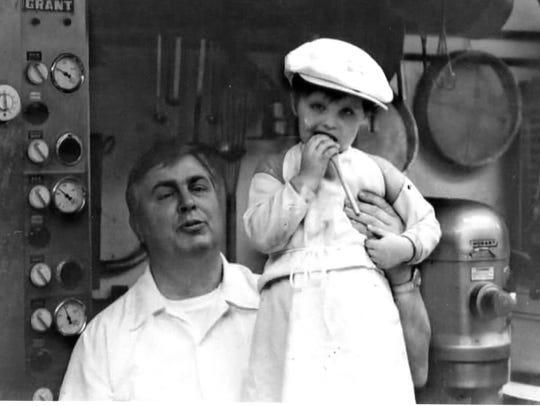 Karl and Christine Boerner at Café Swiss in Seal Beach,