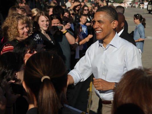 president obama decorah Tues