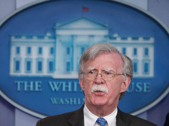 Democratic lawmakers want to hear next week from Bolton over the administration's approach to Ukraine that is central to House proceedings that could lead to the impeachment of President Donald Trump.
