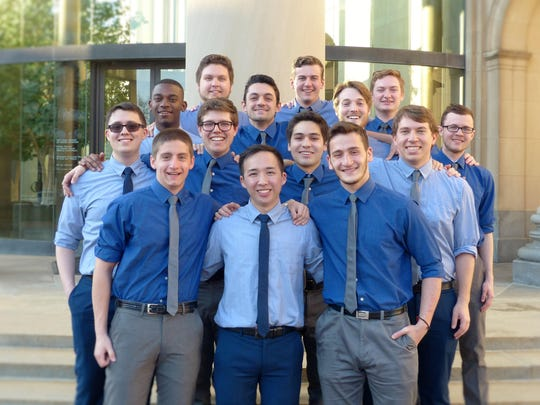 The a cappella group, Unisons, performs May 1 at the Poughkeepsie Reformed Church.