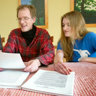 """Jody, Keith and Margaret Baxter each wrote 50,000 word novels as part of National Novel Writing Month in 2007. The task was more about getting the thoughts down on paper and worrying about editing later, Keith explained. The result are novels with working titles of """"Finding Susan"""" for Jody, """"The End of the World as We Know It"""" for Keith, and Margaret has yet to name her creation."""