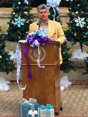Alexandria Mayor Jacques Roy discusses plans for this year's Winter Fete.