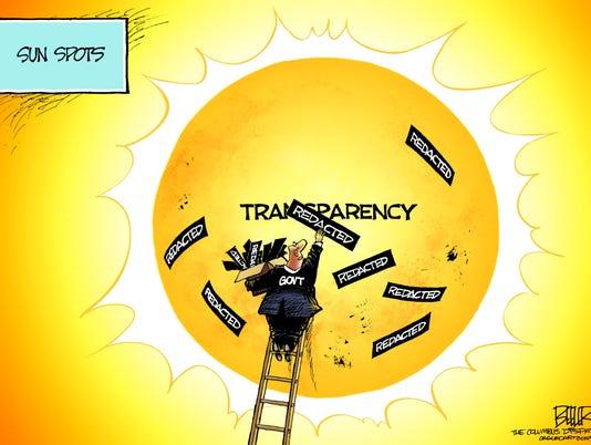 Cartoon: Sunshine Week