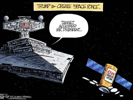 Nate Beeler, The Columbus Dispatch, OH