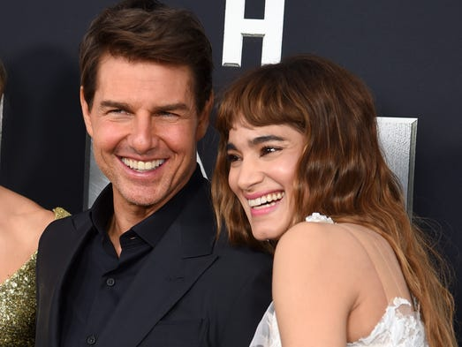 Why Sofia Boutella (literally) licks Tom Cruise in 'The Mummy' Katie Holmes And Jamie Foxx