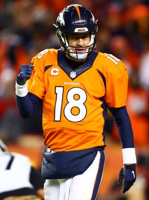 Broncos QB Peyton Manning has five MVP awards but wants a second ring.
