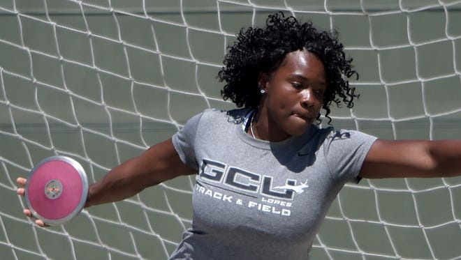 Tarasue Barnett became the first Grand Canyon University track and field athlete to qualify for the Olympics after winning the women's discus at the Jamaica Track and Field Trials.