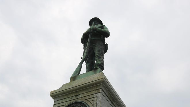 The statue of a Confederate soldier, located outside at the corner of U.S. 70 and Hwy. 258 South, could be removed from the Kinston-Lenoir County Visitors Center on Lenoir County property and placed inside the CSS Neuse Civil War Museum.