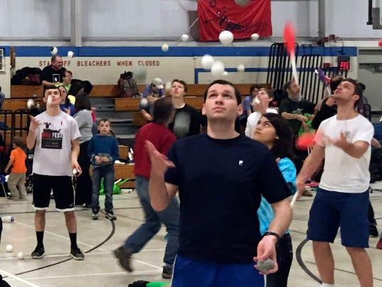 Five-Ball-Contest