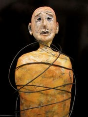 The sculptures of Tory Brokenshire will be on exhibit at the Compass Gallery from Jan. 11 through Feb. 3.
