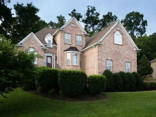 This home, at 6725 Christiansted Lane in Nashville,