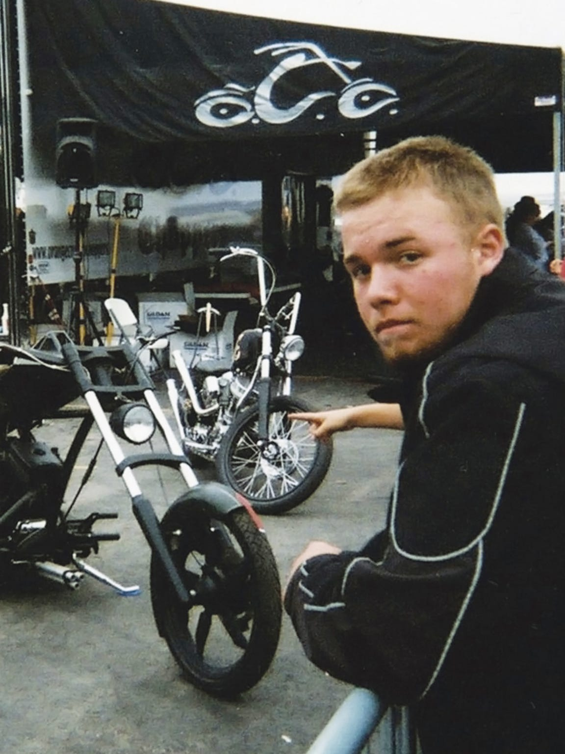 Dustin Zuelsdorf was passionate about motorcycles the way he was about football.