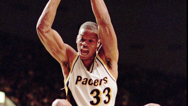 Antonio Davis spent six seasons with the Indiana Pacers from 1993-1999.