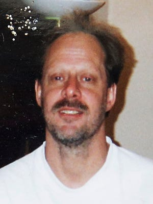 This undated photo provided by Eric Paddock shows his brother Stephen Paddock.