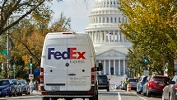 FedEx says deliveries in parts of D.C. area could be affected by Friday's inauguration.