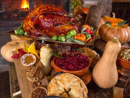 Crystal Springs Resort in Hamburg's Thanksgiving buffet.