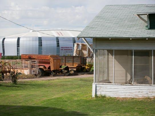 Part of the Pendergast family farm near University