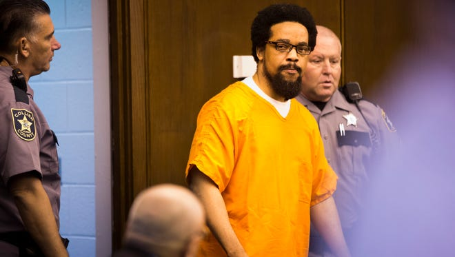 Mesac Damas, who pleaded guilty last month to six counts of first-degree murder in the killings of his wife and five children, appears for his Spencer Hearing, the last appearance before his sentencing on Friday.