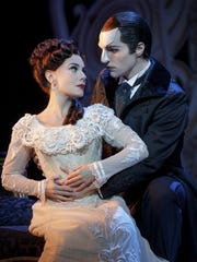 "The Broadway production of ""Love Never Dies"" is at"