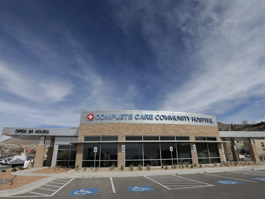 The $10 million Complete Care Community Hospital, the