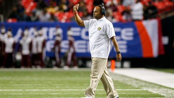 Grambling coach Broderick Fobbs hopes to take the Tigers
