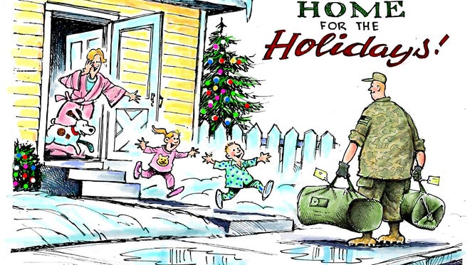 Holidays and Military