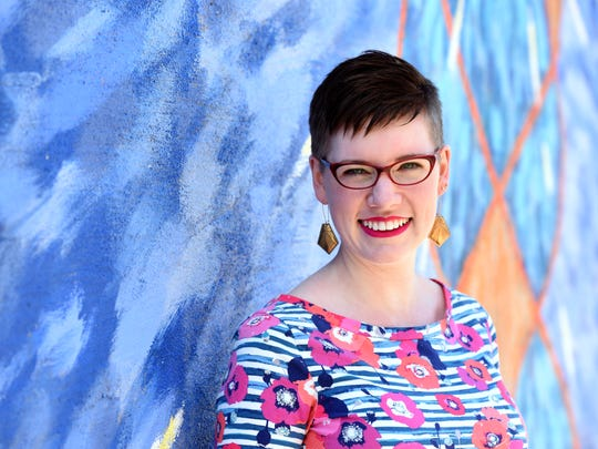 Emily Spanier is a maker in Sioux Falls.